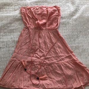 Love Culture new midi dress peach medium